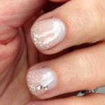 Tight shot of my Parfait Manicure