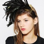 Katie Burley Millinery Feather Headband